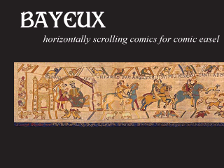 Bayeux: horizontally scrolling comics for Comic Easel.