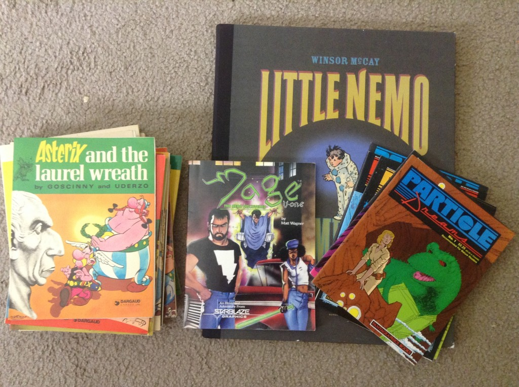 Asterix, Little Nemo, Mage, Particle Dreams
