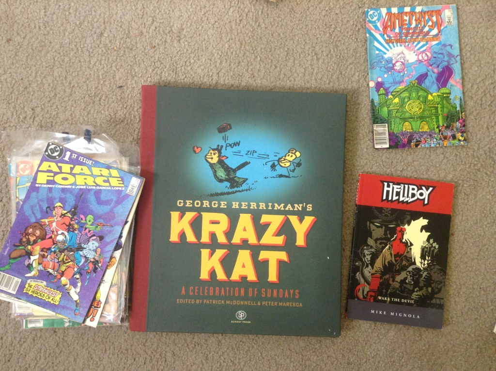 Amethyst, Krazy Kat, Hellboy, Atari Force